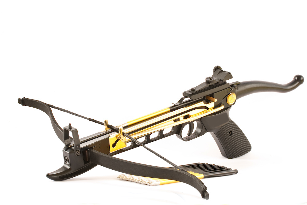 which safety guideline is unique to the crossbow